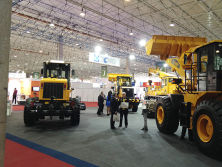 XCMG in exhibition