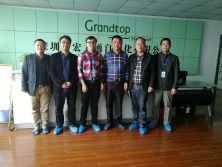 2017.11.28 hai peng xin term visit grandtop and build cooperation with us