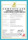 CE certificate of PU warning post