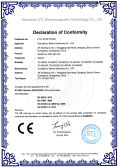 CE certificate of LED light bars
