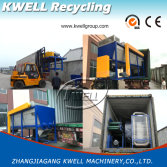 PET bottle recycling machine shipping