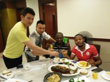 Mr. Sery Antoine and Mr. Prince′s Second Time Visiting