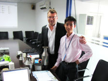 USA customer′s visit