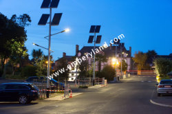 solar street lighting project in France