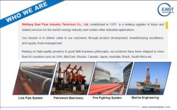 WHO WE ARE--WEIFANG EAST STEEL PIPE