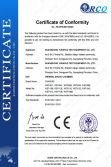 CE certificate of thermal shock chamber