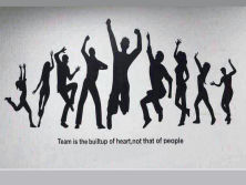 Team Is Bulitup Of Heart, Not That Of People!