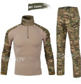 8-Colors Tactical Tight Outdoor Sports Uniform Camouflage Suit Military Uniform