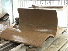 Producing Curved Stone Panel According To Clients′ Requirement