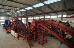 Malaysia metal recycling line successful acceptance