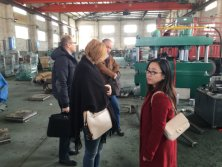 Serbia client visit to our factory
