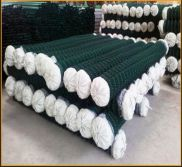 Vinyl Coated Chain Link Fence/Chain Link Mesh/Chain Wire Mesh