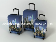 Spandex Travel Luggage Cover Fits 18-32 Inch Luggage, High Elastic, Washable, Comes in Various Print