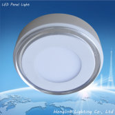 6w 8w 10w Double color round and square led ceiling panel light