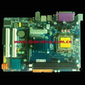 LGA 775 socket 945 GV motherboard with Low price and best quality 2 SATA