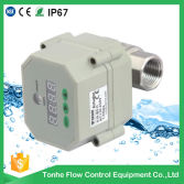 Automatic timer drain valve