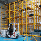 drive in racking installation in Algeria