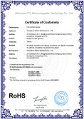 RoHS certificate of LED light bars