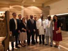 2018.9 Meeting with Burkina Faso′s president Kabore at China-Africa Forum