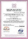 Occupational Health And Safety Management System Certificate