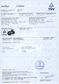 Certificate of Spray Gun