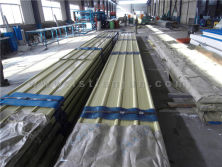 corrugated colorful steel sheet