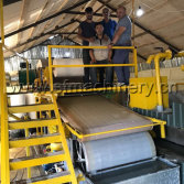 Azerbaijan 787 Type Toilet Paper Machine Put Into Operation