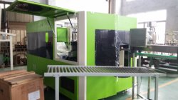 Plastic bottle blow moulding machine