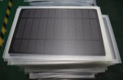 PET laminated solar panel(frontside view)
