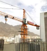Model 5010 Top Kits Tower Cranes Project in Saudi Arabia