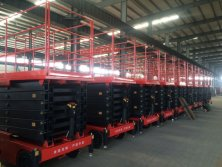 Electric Scissor lift export to Saudi Arabia