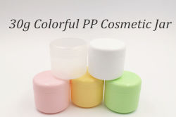 30g Colorful PP Cosmetic Jar