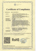 RoHS Certification for LED bulbs