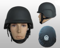 Bullet-proof helmet made of high-performance polyethylene material