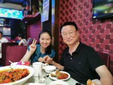 Dinner with Korea Customer