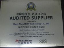 Audited Suppliers of 2012