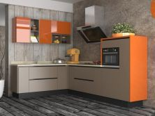 High Gloss Modern Kitchen Cabinet for Home Kitchens