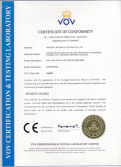 CE certificate for pole mounted auto circuit recloser-RCW15