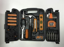 148PC Household Hardware Tool Set with Screwdriver Bit Set, Watch Repair Tool Kit