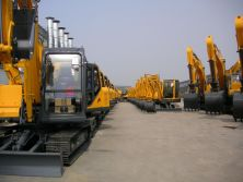 finished excavators