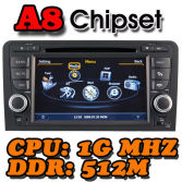 WITSON A8 Chipset Special Car DVD Player GPS for AUDI A3 / S3 / RS3 (2003-2011)