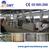 PVC artifical marble sheet extruder machine