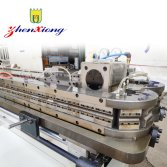 Corrugated pipe production line