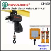 European Electric Chain Host with Electric Motorized Trolley with Wireless Remote Control