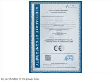 CE certificate for the bluetooth earphone