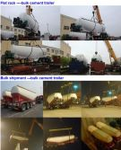 Bulk Powder tank shipping on July, 2016
