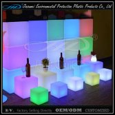 LED Plastic cube lighting with LLDPE material