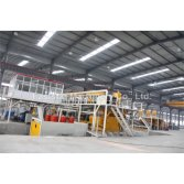 artificial marble produciton line customer plant