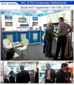 IBC2015 Exhibition show in Amsterdam