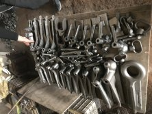 trailer coupling raw parts
